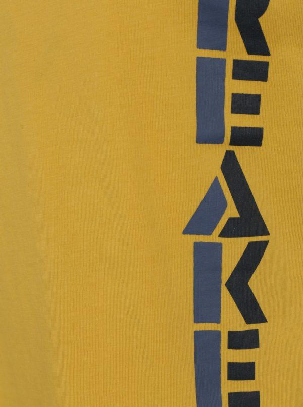 Žlté chlapčenské tričko s dlhým rukávom name it Victor