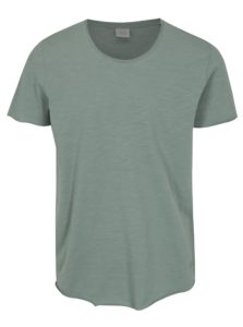 Svetlozelené basic tričko Jack & Jones Bas