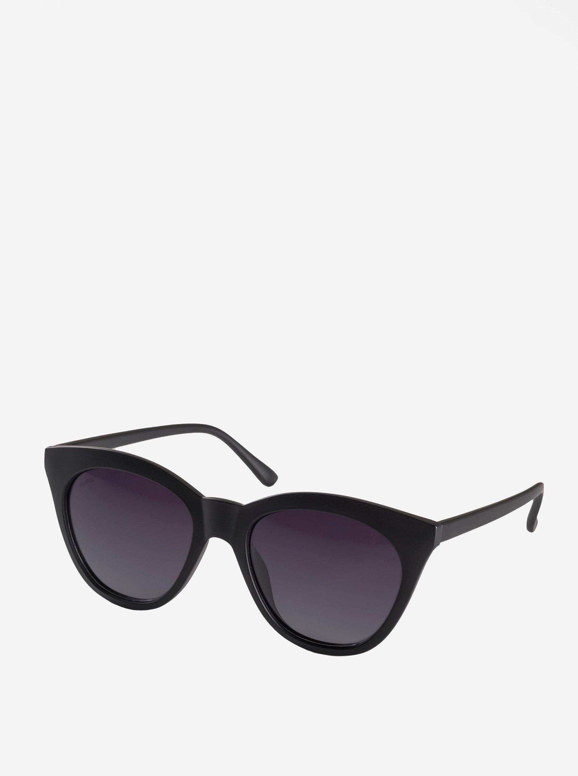 Čierne dámske slnečné okuliare Pilgrim Ivy  5f550e2ed49
