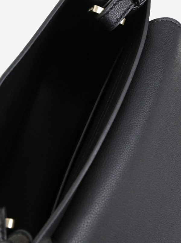 Čierna crossbody kabelka Calvin Klein Jeans Metropolitan