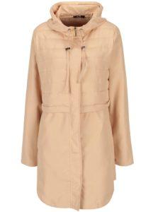 Béžový prešívaný kabát Yest