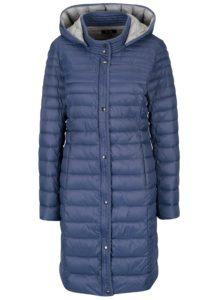 Modrý prešívaný kabát Yest