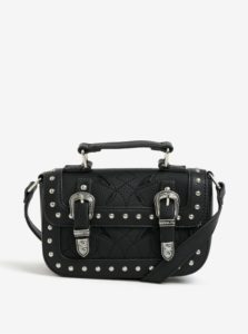 d4cabc5fbf Čierna crossbody kabelka s ozdobnými cvokmi Miss Selfridge