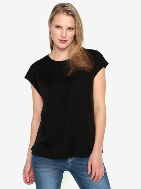 Čierna blúzka Selected Femme Zoe