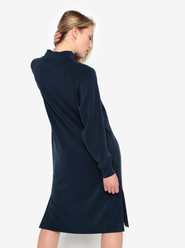Tmavomodré oversize šaty Selected Femme Tea