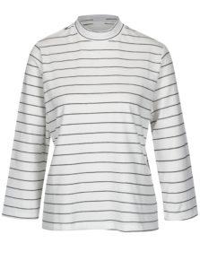 Čierno-biele pruhované tričko Jacqueline de Yong Gana