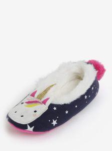 Tmavomodré dievčenské papuče Tom Joule Dreama