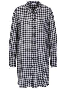 Bielo-čierne kockované košeľové šaty Jacqueline de Yong Ally d54035e6eb6