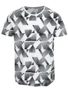Biele vzorované tričko Lindbergh