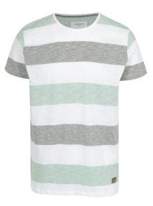 Svetlozelené pruhované tričko Lindbergh