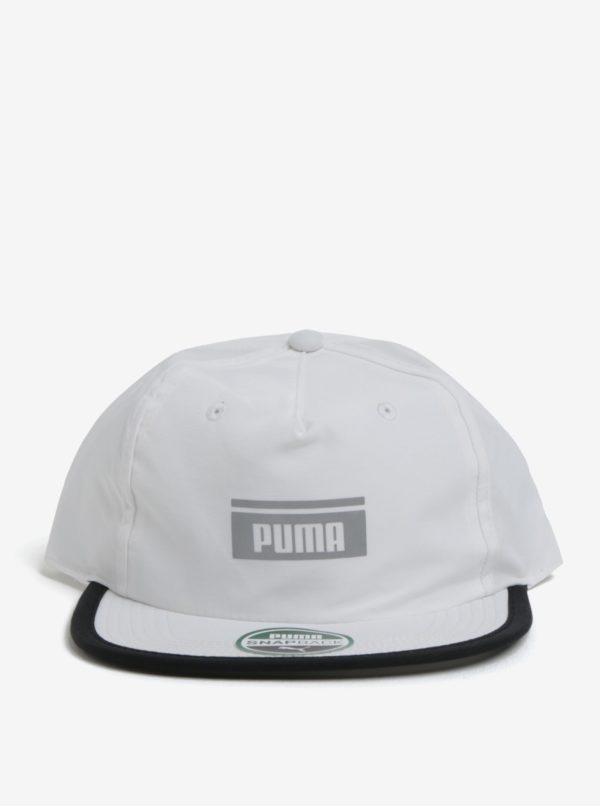 Biela unisex šiltovka Puma