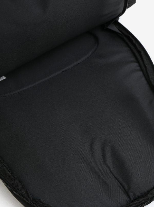 Čierny batoh s detailmi v semišovej úprave Puma 22 l