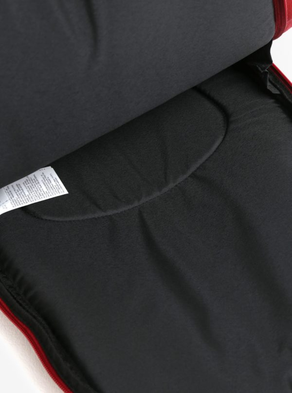 Vínový batoh s detailmi v semišovej úprave Puma 22 l