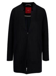 Tmavomodrý dámsky tenký kabát s.Oliver