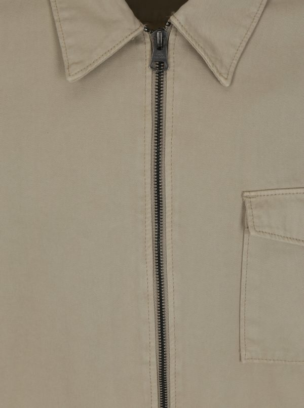 Béžová tenká bunda Shine Original