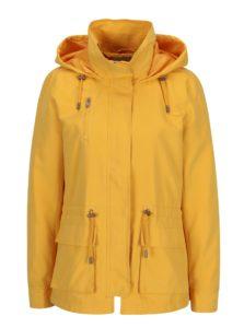 Žltá tenká bunda s kapucňou ONLY Starlight