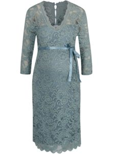 Modré tehotenské šaty Mama.licious Ivana 3a1b725abcf