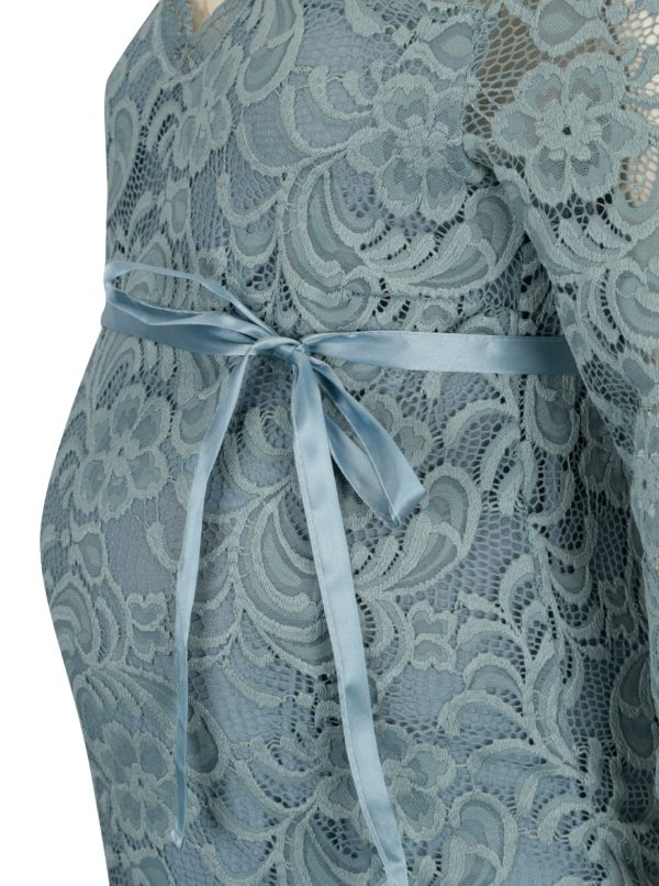 Modré tehotenské šaty Mama.licious Ivana