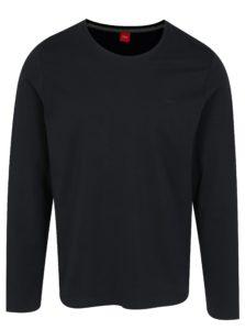 Tmavomodré pánske tričko s.Oliver