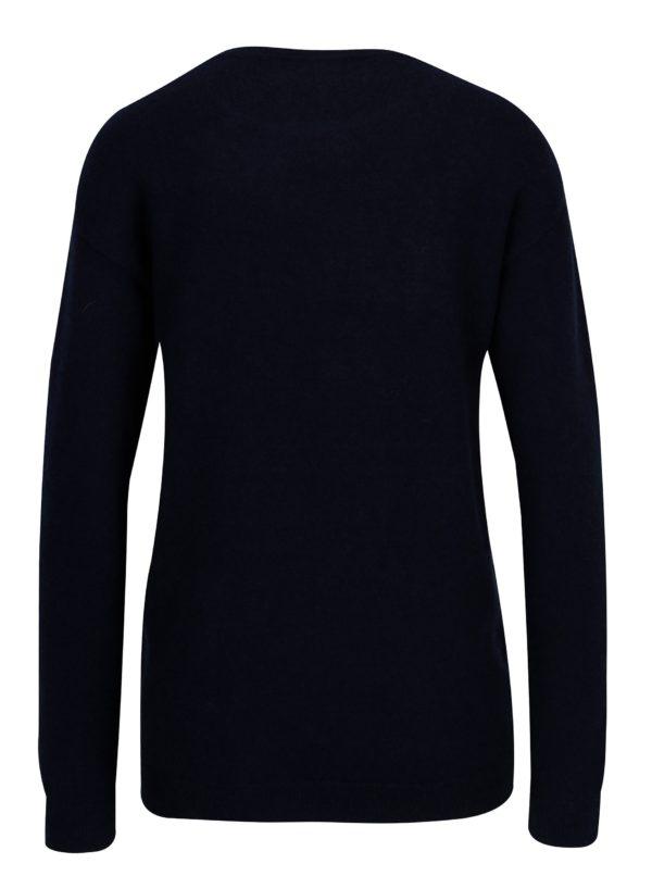 Tmavomodrý sveter s výšivkou Dorothy Perkins