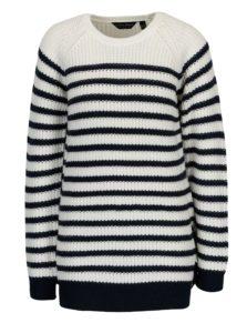 Modro-krémový pruhovaný sveter Dorothy Perkins