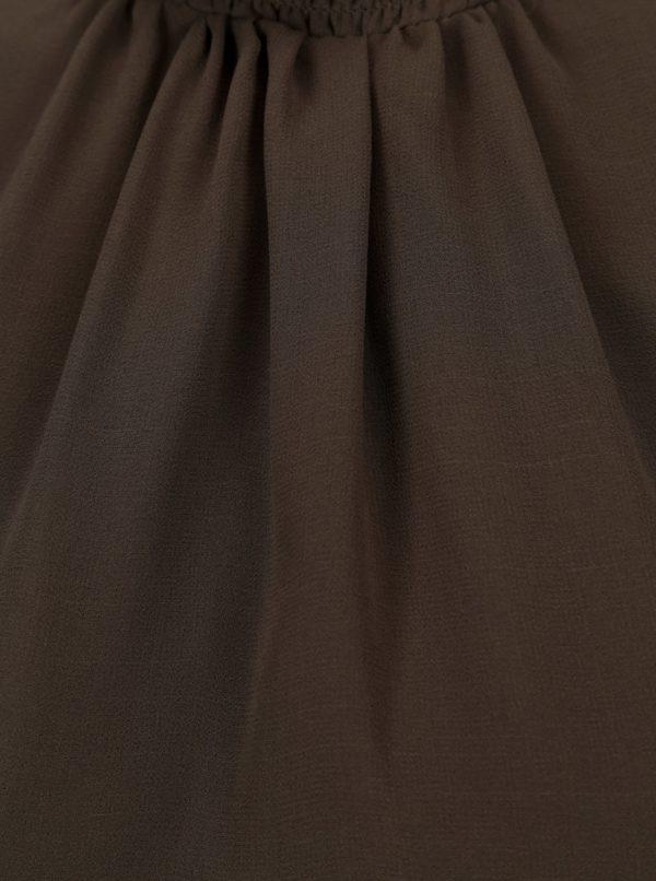 Tmavozelená blúzka Dorothy Perkins