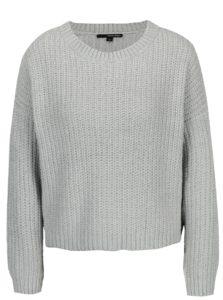 Svetlosivý krátky sveter TALLY WEiJL