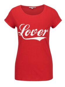 Červené tričko s potlačou TALLY WEiJL