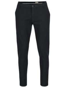 Tmavomodré chino nohavice Selected Homme Harval