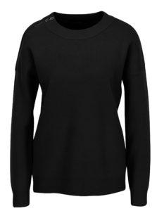 Tmavomodrý sveter so zipsom VERO MODA Julie