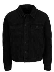 Čierna rifľová bunda Burton Menswear London