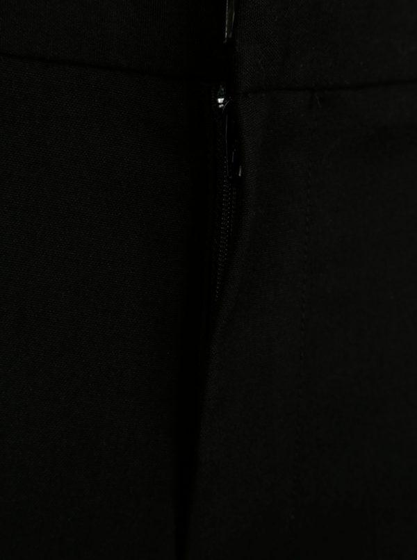 Čierne slim nohavice Burton Menswear London
