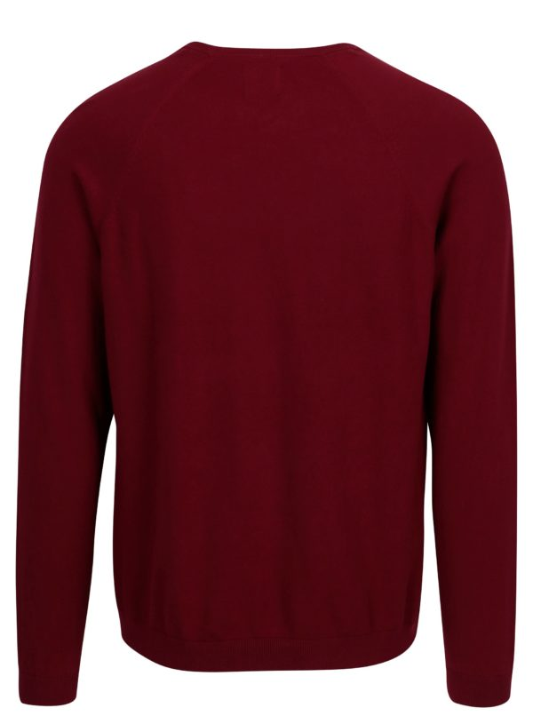 Červený sveter Burton Menswear London