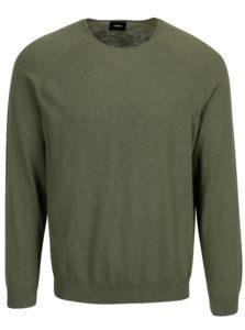 Zelený sveter Burton Menswear London