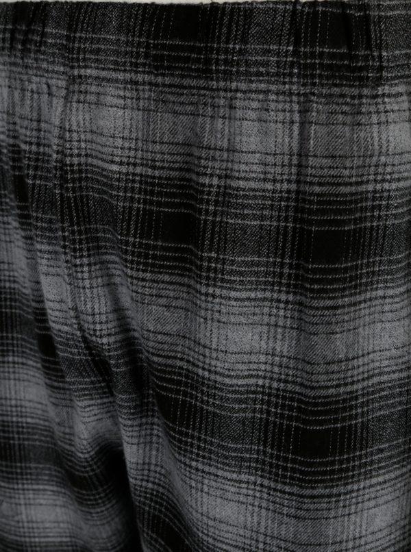 Sivé dvojdielne vzorované pyžamo Burton Menswear London