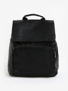 Čierny batoh s chlopňou Bobby Black