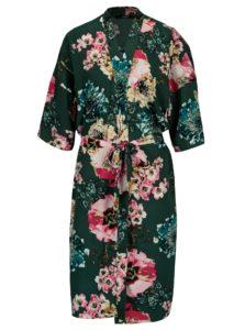 Zelené kvetované kimono ONLY Katehrine