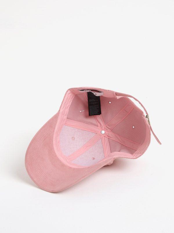 Ružová šiltovka Pieces Myrna