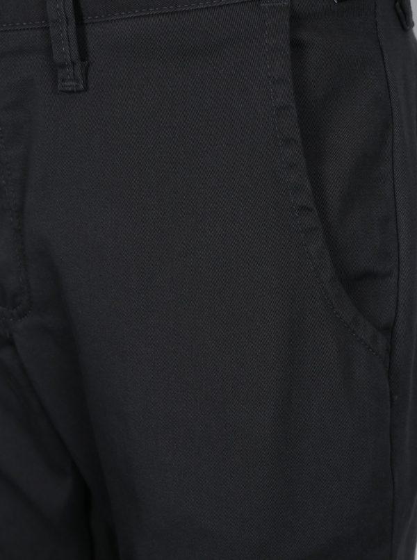 Tmavosivé chino nohavice VANS Authentic