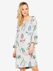 Svetlosivé dámske vzorované šaty Tom Joule Gardenia