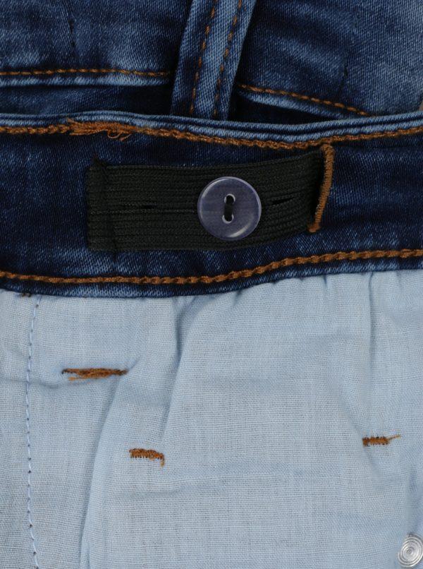 Modré chlapčenské rifľové kraťasy Blue Seven