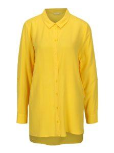 Žltá dlhá košeľa Jacqueline de Yong Togo