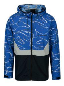 Modro-biela vzorovaná bunda ONLY & SONS Garman