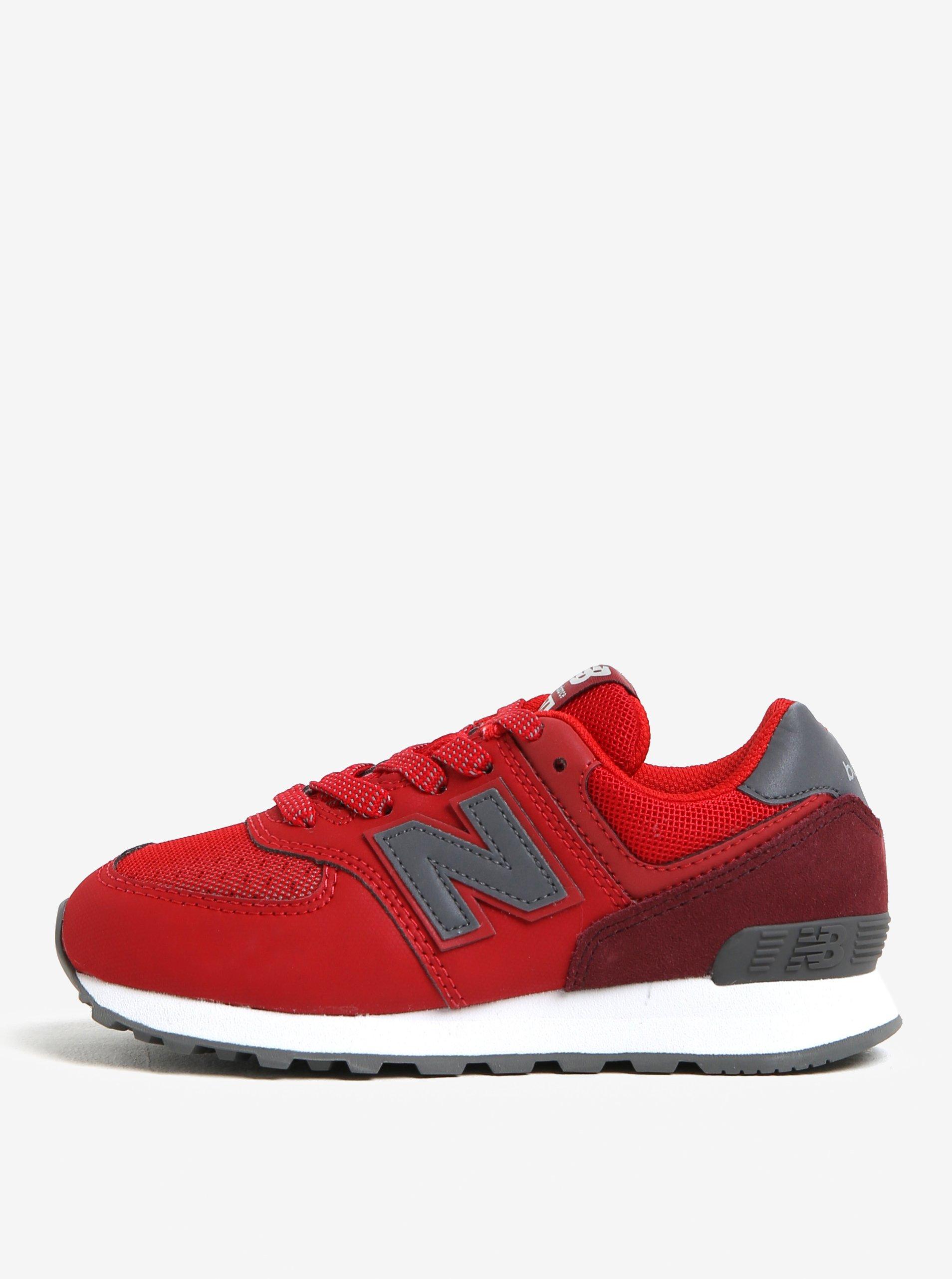 43094248bdb0c Červené detské tenisky New Balance | Moda.sk