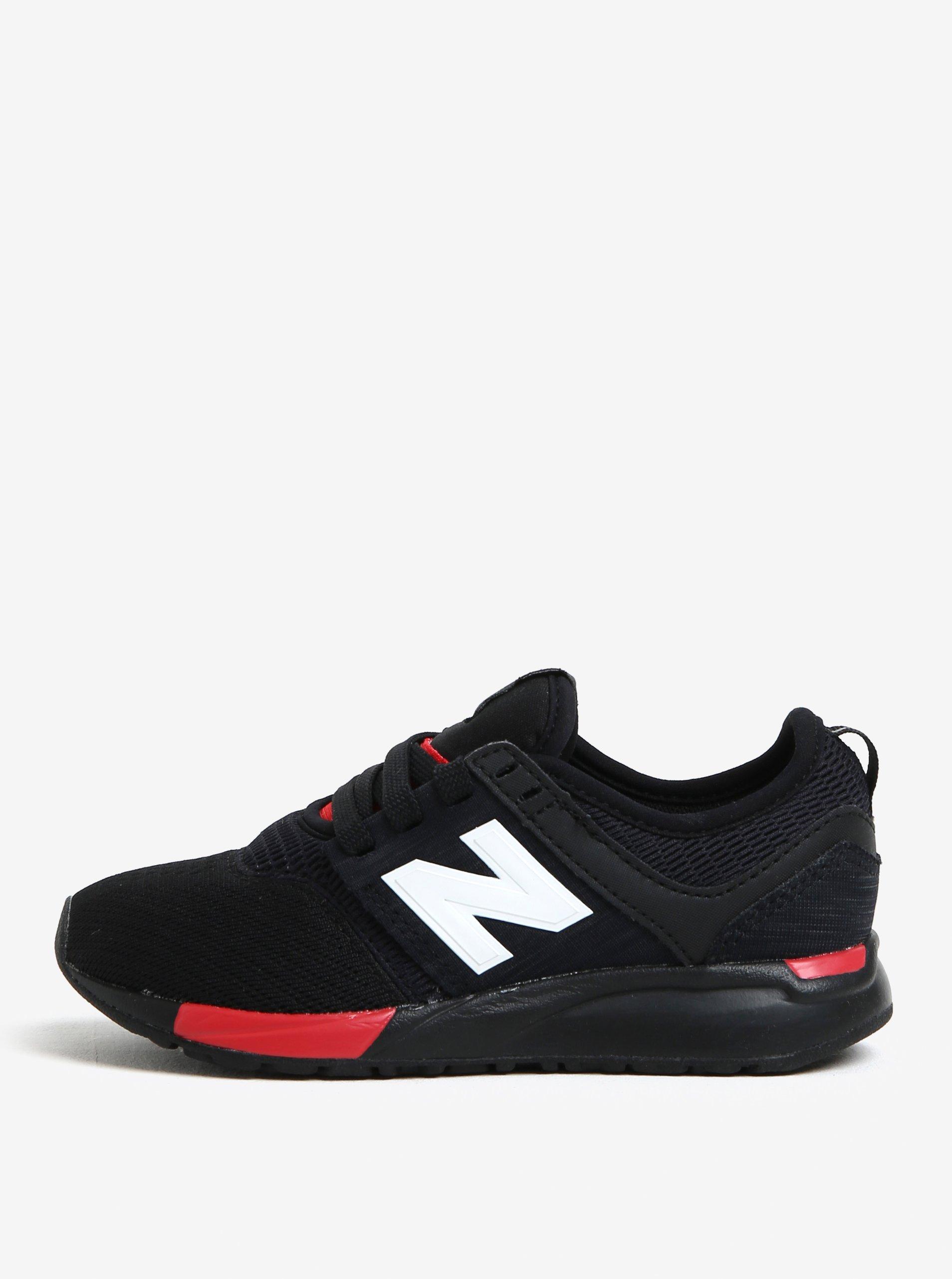 Čierne detské tenisky New Balance  71dfe8e9ba9
