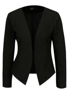 Čierne rebrované sako ONLY Anna