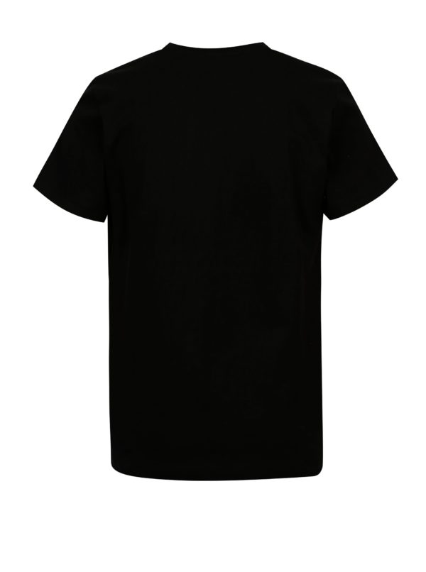 Čierne chlapčenské basic tričko 5.10.15.