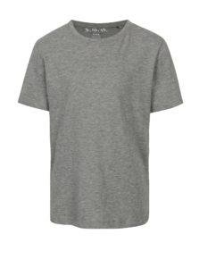 Sivé chlapčenské basic tričko 5.10.15.