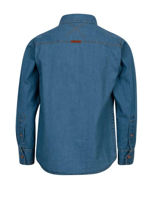 Tmavomodrá chlapčenská rifľová košeľa 5.10.15.