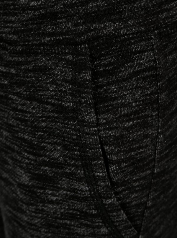 Čierne chlapčenské melírované tepláky s vreckami 5.10.15.